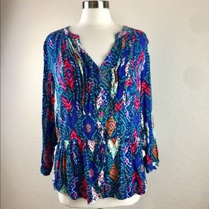 Maeve by Anthropologie Blouse Size 12